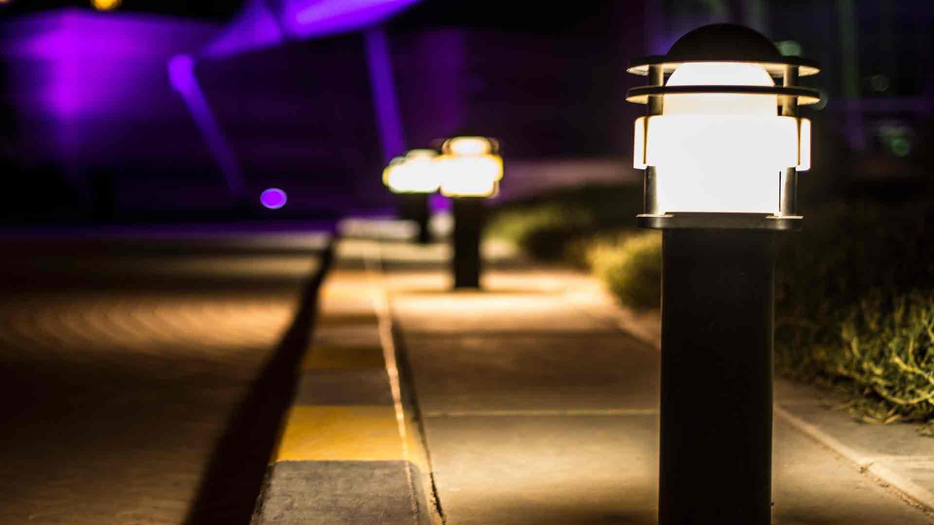 elementos bsicos para la iluminacin exterior