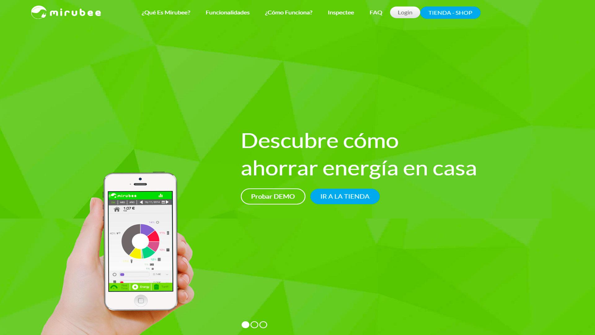 Mirubee, una app para controlar el consumo de electricidad 1920